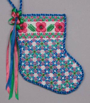 finishing a canvas stocking - Needlepoint Christmas Stocking Canvas